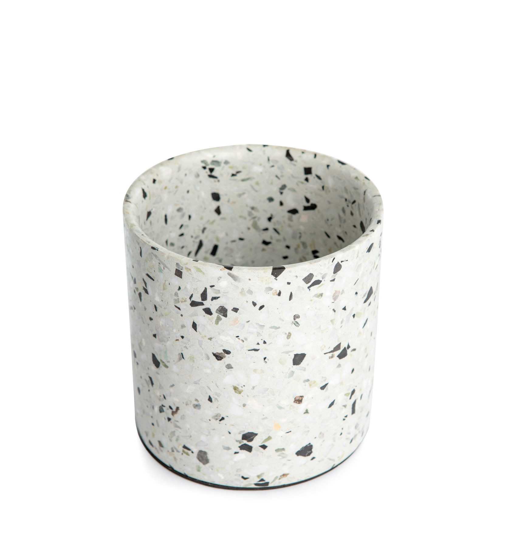 Outdoor - Pots & Plants - Terrazzo Pot - / Small by XL Boom - White terrazzo - Terrazzo