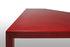Tense Material Diamond Rectangular table - / 90 x 220 cm - Acrylic resin by MDF Italia
