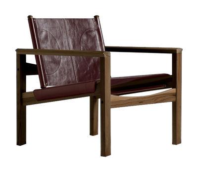 Peglev Sessel - Objekto - Holz dunkel,Mittelbraun