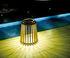 Solare Solar lamp - / Teak - H 40 cm / Solar or USB charging by Unopiu