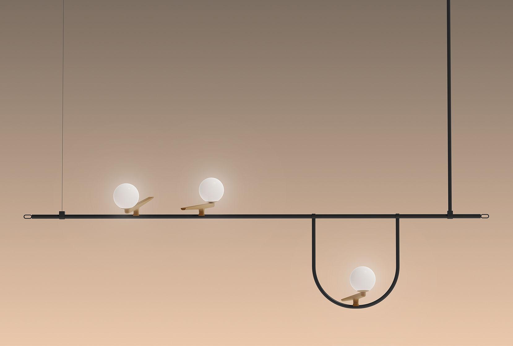 Nur lampada a sospensione collezione nur by artemide design