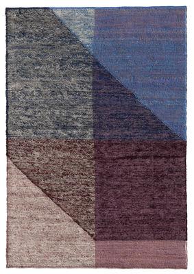 Interni - Tappeti - Tappeto Capas 3 - / 200 x 300 cm di Nanimarquina - Viola & blu - Lana