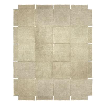 Dekoration - Teppiche - Basket Teppich / 245 x 300 cm- Handgetuftet - Design House Stockholm - Beige - Wolle