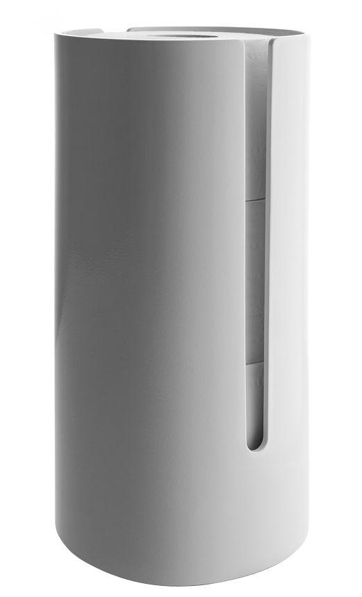 Accessoires - Accessoires für das Bad - Birillo Toilettenpapierhalter - Alessi - Weiß - PMMA