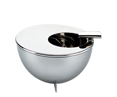 Accessories - Desk & Office Accessories - 100 ans Bauhaus Ashtray - / (1924) by Alessi - Steel - Glossy stainless steel