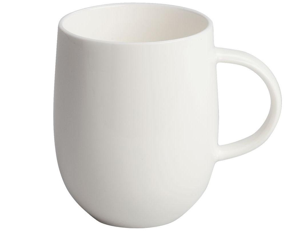 Tischkultur - Tassen und Becher - All-time Becher - A di Alessi - Kaffeebecher - weiß - chinesisches Weich-Porzellan