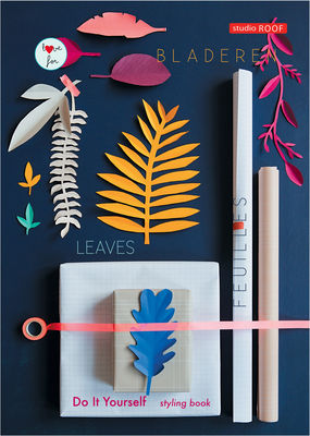 Decoration - Children's Home Accessories - DIY Styling Book - / Cutting out activity by studio ROOF - colour paper - Paper