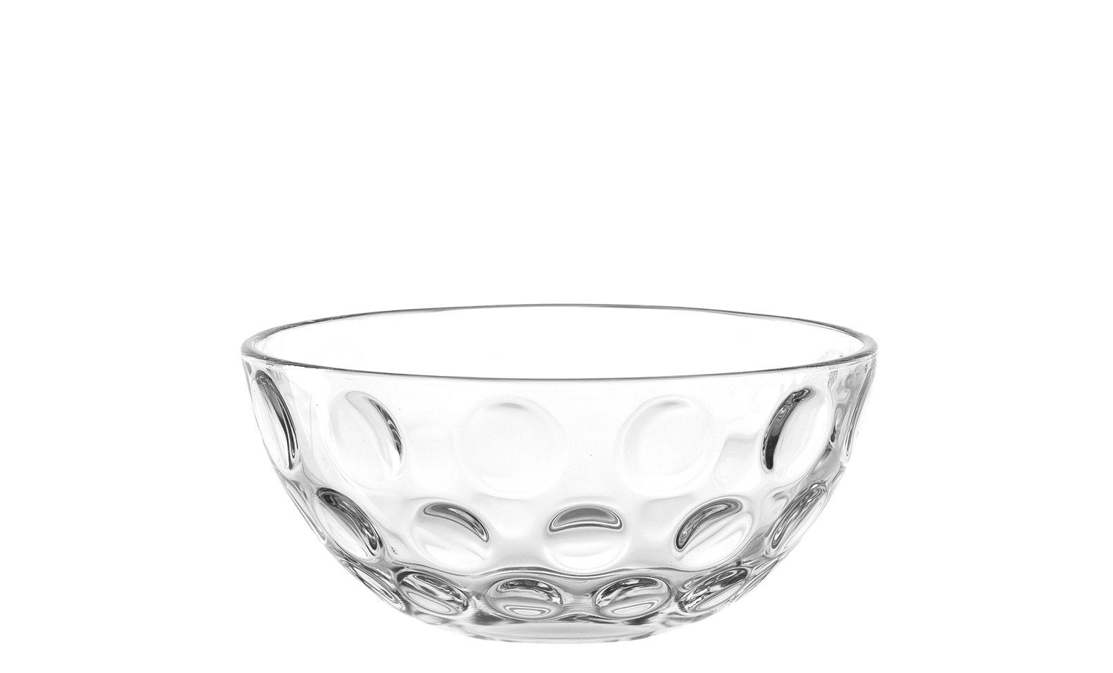 Arts de la table - Saladiers, coupes et bols - Coupelle Optic / Ø 14 x H 7 cm - Leonardo - Transparent - Verre