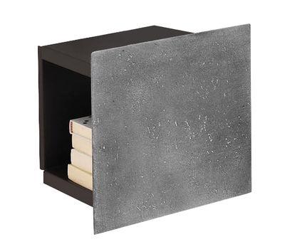 Etagère DPI Small / Pierre - L 33 x H 34 cm - Mogg gris en pierre