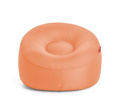 Chaise gonflable Lamzac O / Tissu - Ø 103 cm - Fatboy pêche en tissu