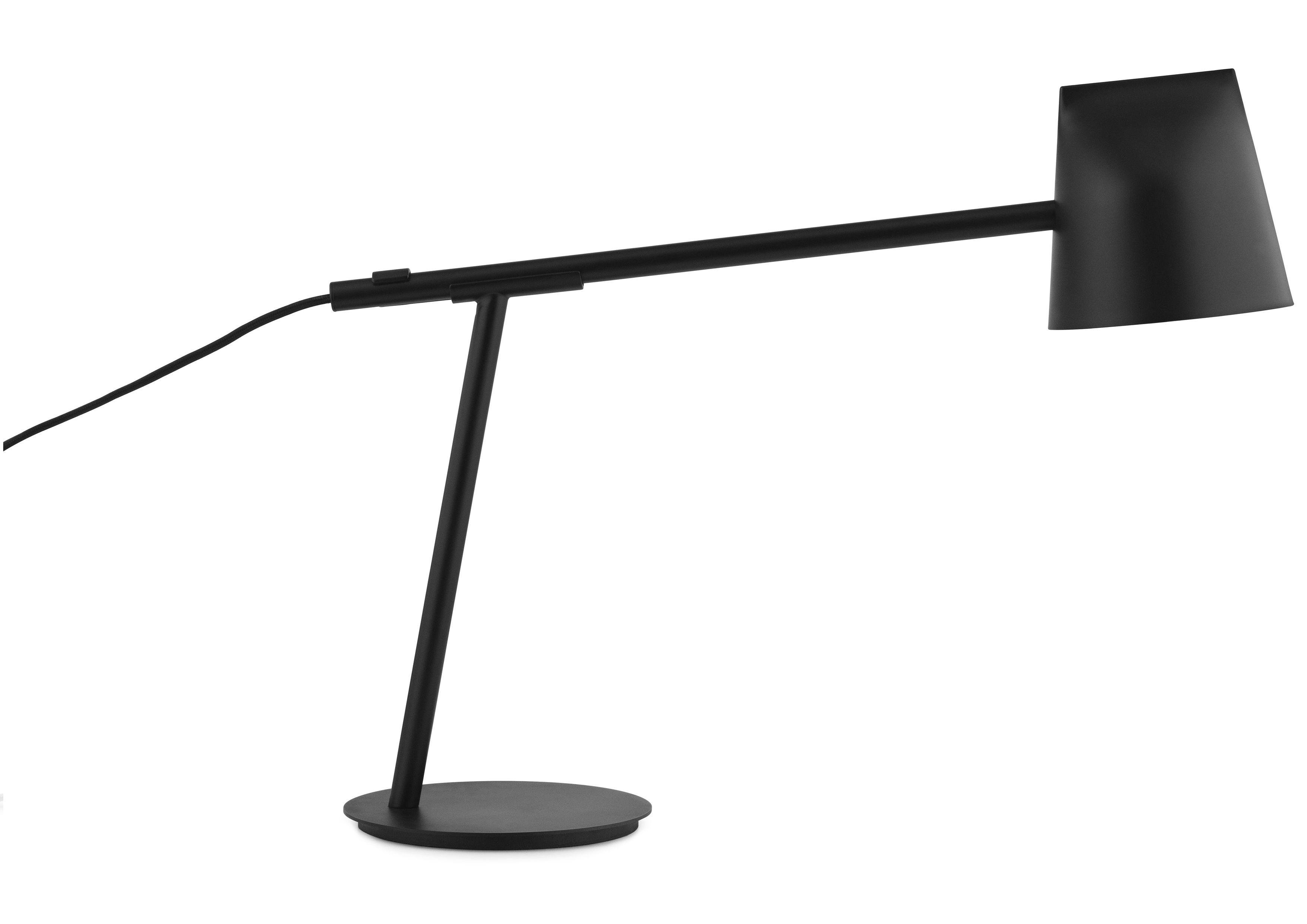 Momento lampada da tavolo led orientabile h cm nero by