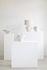 Lampe de table Earth / Papier mâché recyclé - 36 x 23 x H 54 cm - Serax