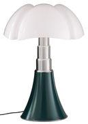 Lampe de table Pipistrello / H 66 à 86 cm - Martinelli Luce vert en métal/matière plastique