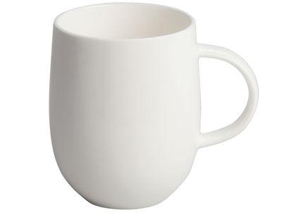 Mug All-time - A di Alessi blanc en céramique