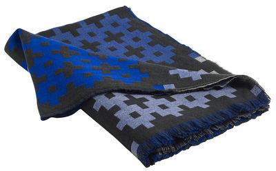 Plaid Plus9 / 215 x 145 cm - Hay bleu en tissu