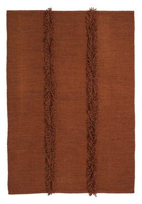 Decoration - Rugs - Mia Rug - 170 x 240 cm by Nanimarquina - Brick - New-zealand wool