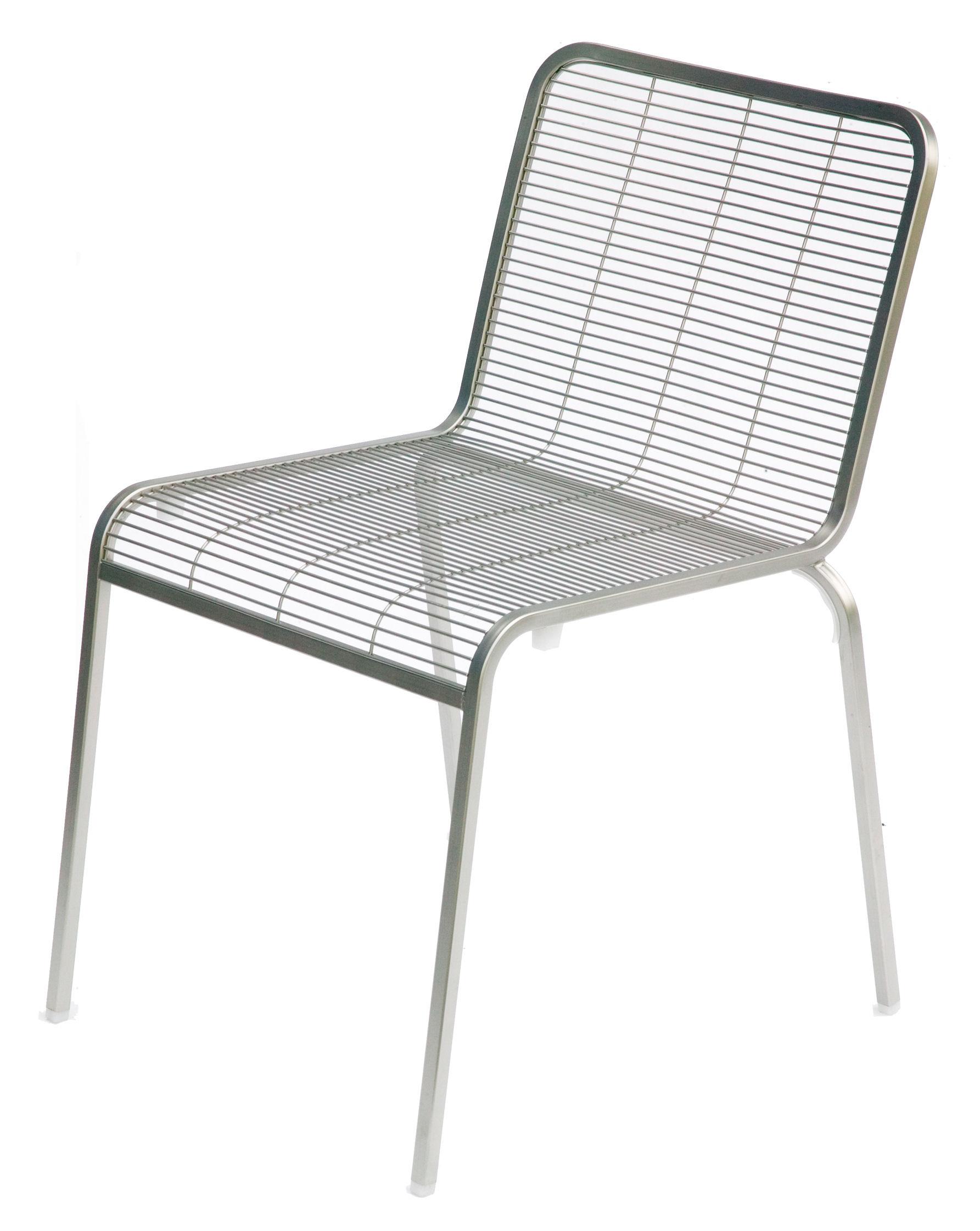 Scopri Sedia Aria, Acciaio di La Palma, Made In Design Italia