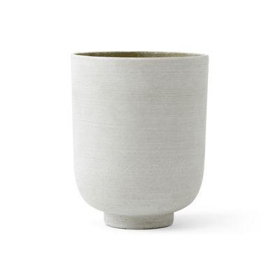 Image of Vaso per fiori Collect SC72 - / Ø 20 x H 24 cm - Polystone di &tradition - Verde - Materiale plastico/Pietra