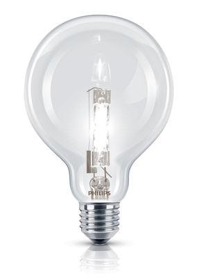 Luminaire - Ampoules et accessoires - Ampoule Eco-halogène E27 EcoClassic Globe / 70W (92W) - 1200 lumen - Philips - 70W (92W) - Métal, Verre
