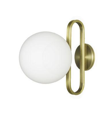 Luminaire - Appliques - Applique Cime Large / Ø 20 cm - ENOstudio - Or - Acier, Verre soufflé