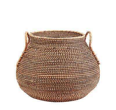 Decoration - Boxes & Baskets - Azeema Basket - / Rattan - Ø 50 x H 39 cm by House Doctor - Ø 50 x H 39 cm / Rattan - Rattan