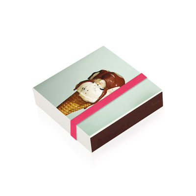 Boîte d'allumettes Glace / 10 x 10 cm - Image Republic multicolore en papier