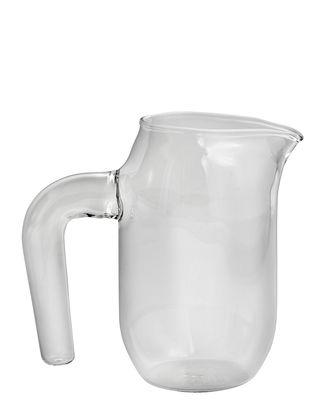 Arts de la table - Carafes et décanteurs - Carafe Jug Small / Ø 10 x H 16,5 cm - Hay - Transparent - Verre borosilicaté