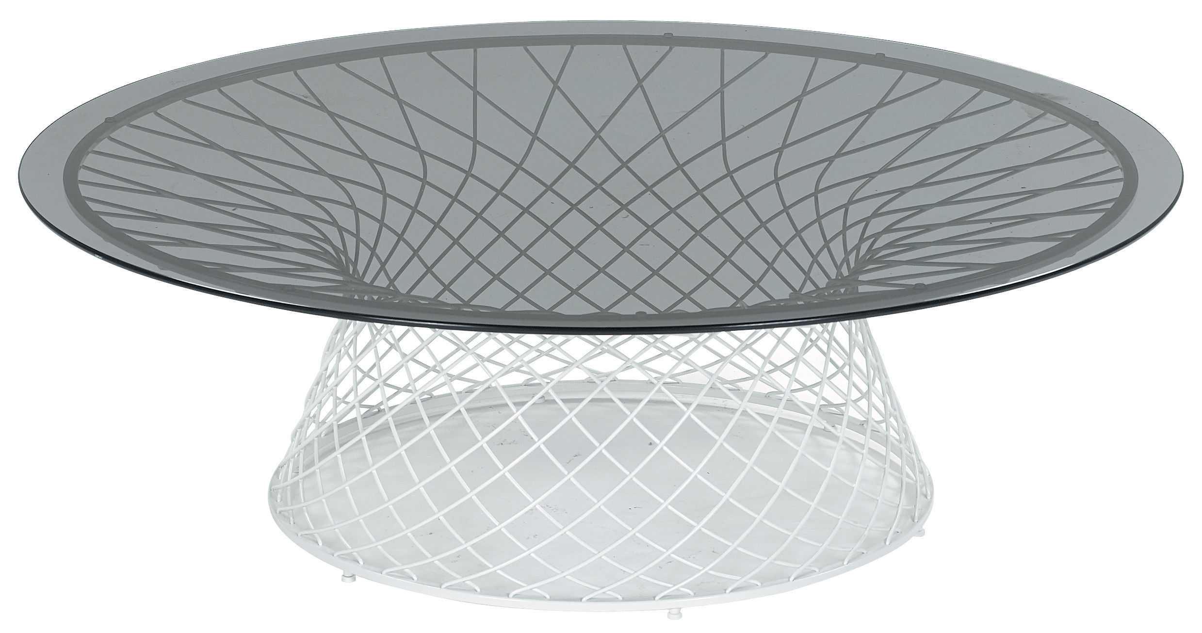 Furniture - Coffee Tables - Heaven Coffee table by Emu - Matt white - Glass, Steel