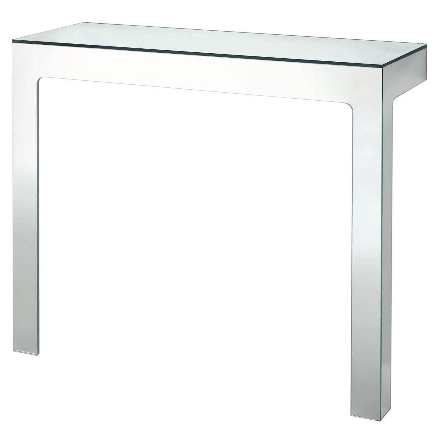 Furniture - Console Tables - Mirror Mirror Console - 110 x 38 cm by Glas Italia - Mirror - Mirror