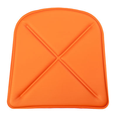 Image of Cuscino / Similpelle - Per sedia A e poltrona A56 - Tolix - Arancione - Pelle