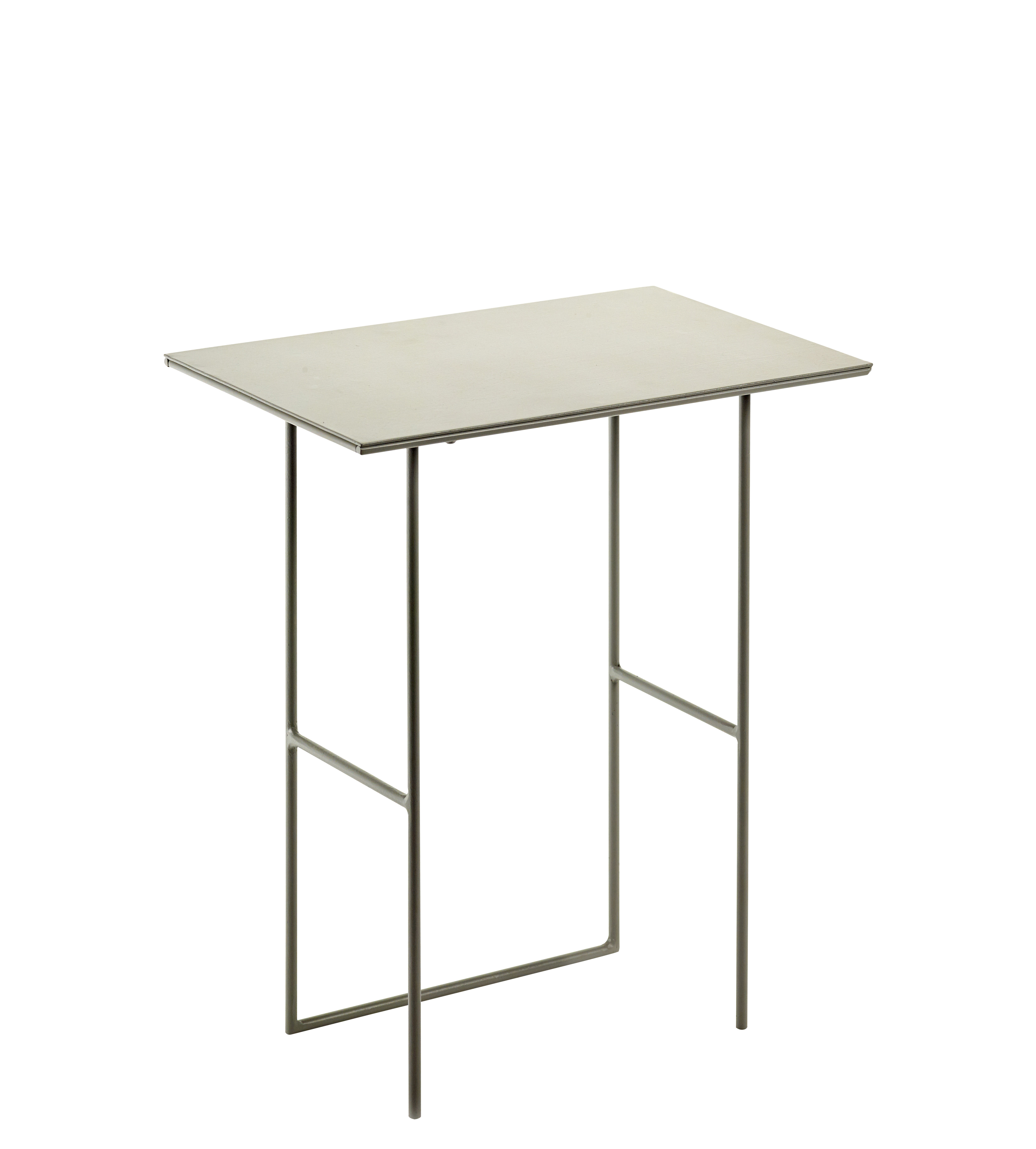Furniture - Coffee Tables - Cico End table - / 40 x 24.5 cm by Serax - Grey - Metal