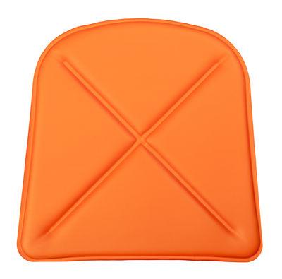Galette d'assise / Similicuir - Pour chaise A et fauteuil A56 - Tolix paprika en cuir