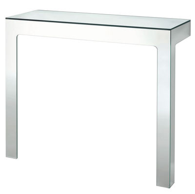 Möbel - Konsole - Mirror Mirror Konsole 110 x 38 cm - Glas Italia - Spiegeloberfläche - Spiegel-Finish