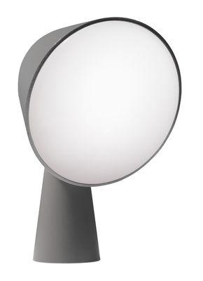 Image of Lampada da tavolo Binic di Foscarini - Grigio - Materiale plastico
