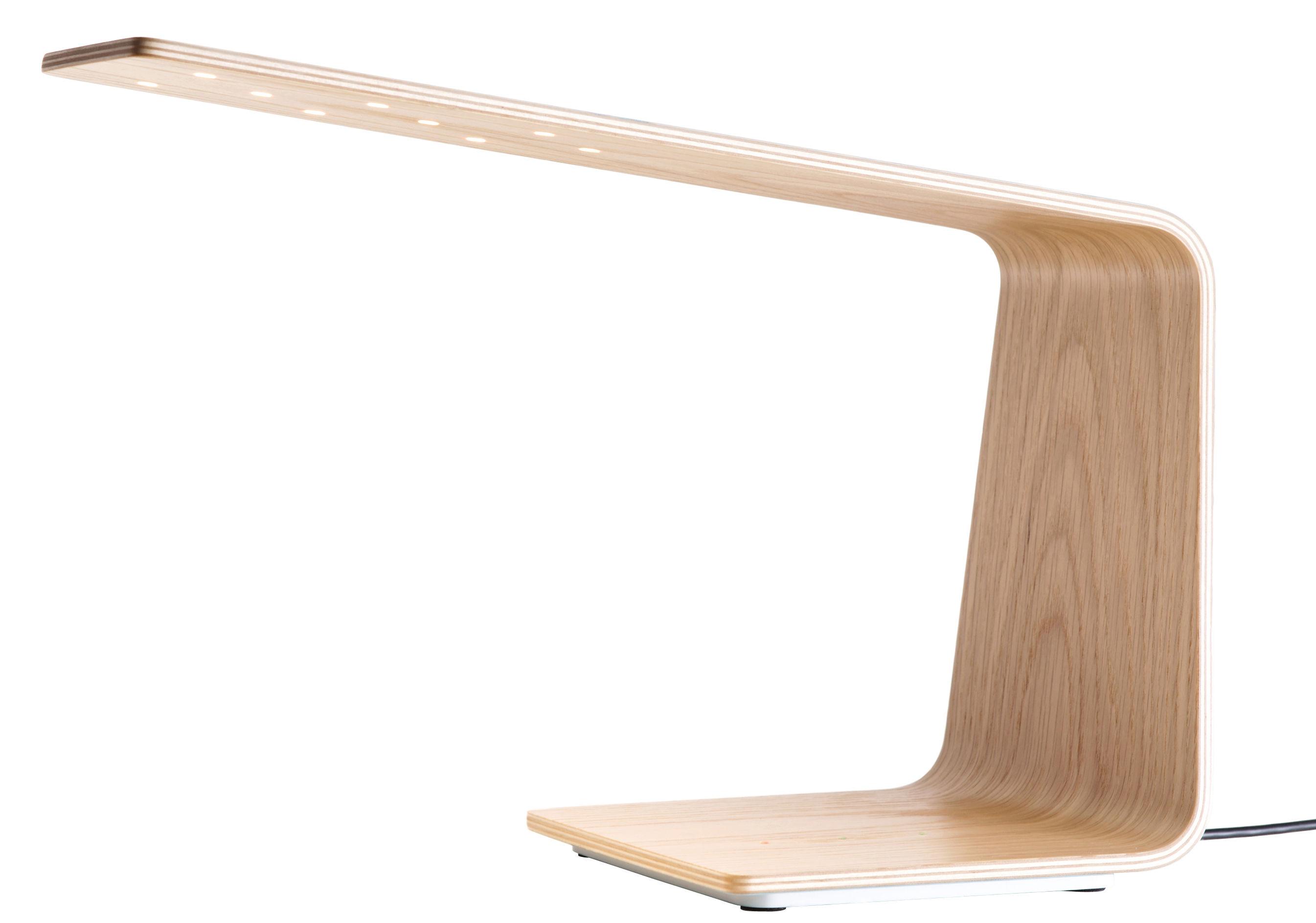 Luminaire - Lampes de table - Lampe de table LED1 / H 30 cm - Tunto - Chêne - Chêne
