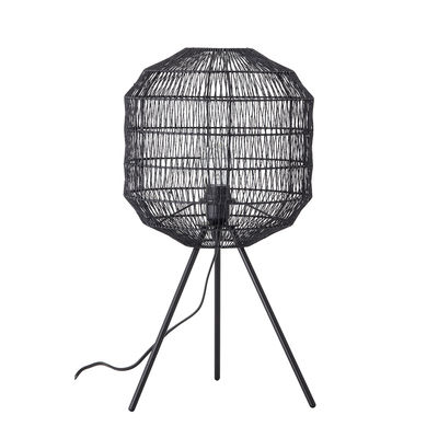 Lampe de table / Ø 30 x H 56,5 cm - Métal - Bloomingville noir en métal