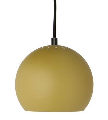 Lighting - Pendant Lighting - Ball Small Pendant - / Ø 18 cm - 1968 reissue by Frandsen - Matt olive green - Varnished metal