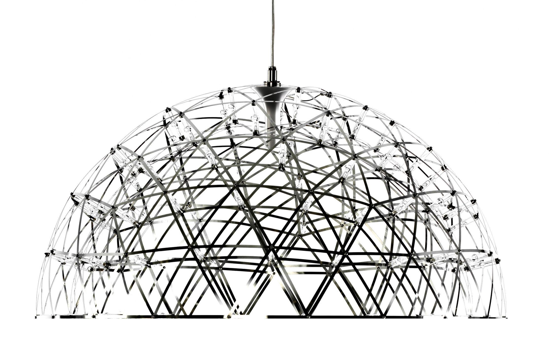 Lighting - Pendant Lighting - Raimond Dome Pendant by Moooi - Polished steel - Aluminium, Steel