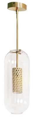 Vadim Pendelleuchte - Maison Sarah Lavoine - Weiß,Gold,Transparent