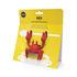 Poggiacucchiaio Red le Crabe - / Lascia passare il vapore di Pa Design