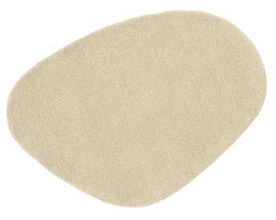 Furniture - Carpets - Little Stone 9 Rug - 60 x 80 cm by Nanimarquina - 60 x 80 cm - Beige stone - Wool