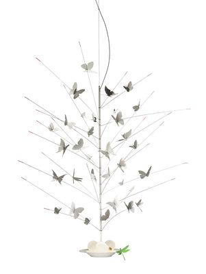Suspension La festa delle Farfalle / LED - Ø 60 x H 110 cm - Ingo Maurer blanc,rouge,vert en métal
