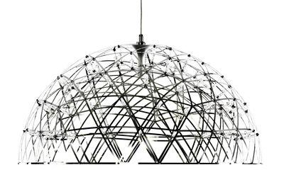 Luminaire - Suspensions - Suspension Raimond Dome / Ø 74 cm - Moooi - Acier poli - Acier, Aluminium