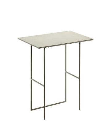 Table d'appoint Cico / 40 x 24,5 cm - Serax gris en métal