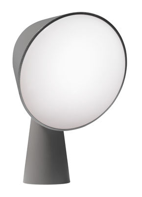 Lighting - Table Lamps - Binic Table lamp by Foscarini - Anthracite - ABS, Polycarbonate