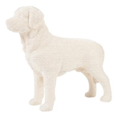 Accessori moda - Animali domestici - Tagliere per grattare Dog - per chats /Cisal - H 71 cm di Soonsalon - Bianco - Cisal, Poliestere