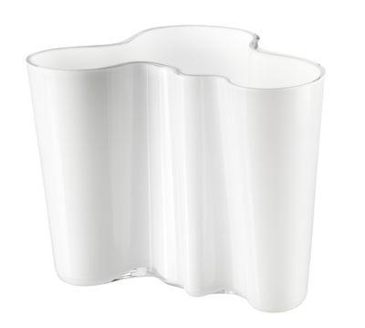 Dekoration - Vasen - Aalto Vase - Iittala - Opalweiß - Glas