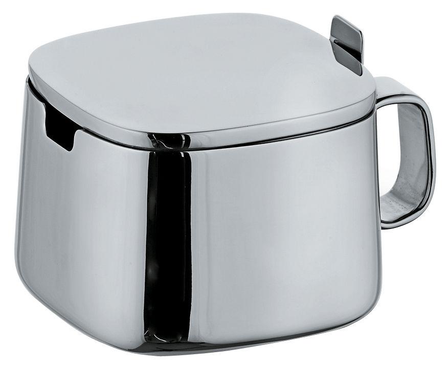 Küche - Zuckerdosen und Milchkännchen - 401 Zuckerdose - A di Alessi - Stahl - rostfreier Stahl