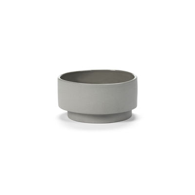 Tableware - Bowls - Inner Circle Bowl - / 65 cl - Sandstone by valerie objects - Light grey - Sandstone