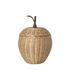 Cestino Apple Small - / Vimini - Ø 20 x H 28 cm di Ferm Living